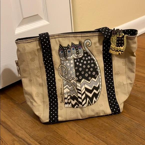 Janel Burch Handbags - Janel Burch cat purse